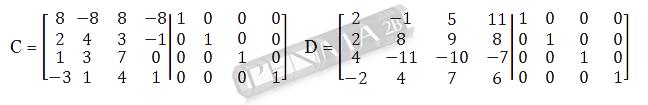 Invers Matriks 4x4 Metode OBE Kunci K1