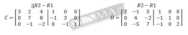 invers matriks 3x3 metode obe gancu dan kunci 3