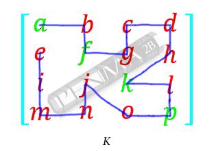 Invers Matriks 4x4 Metode OBE K