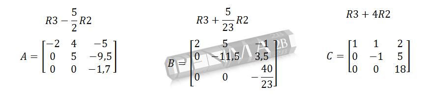 determinan matriks segitiga atas-2