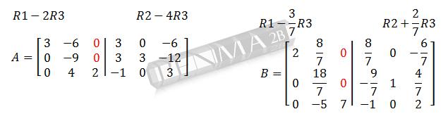 Invers Matriks 3x3 Metode OBE Ganjil3