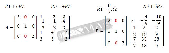 Invers Matriks 3x3 Metode OBE Ganjil 5