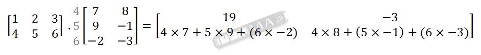 Perkalian Matriks 2x3 dengan 3x2 Baris 2