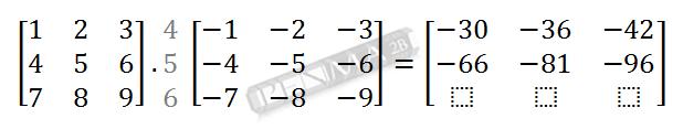 Perkalian Matriks 3x3 dengan 3x3 Baris 2