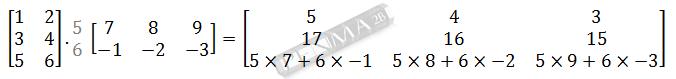 Perkalian Matriks 3x2 dengan 2x3 Baris 3